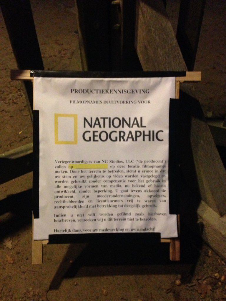 National Geographic maakt opnames tijdens de voorstelling van Richard III. Foto: Shakespearetheater Diever