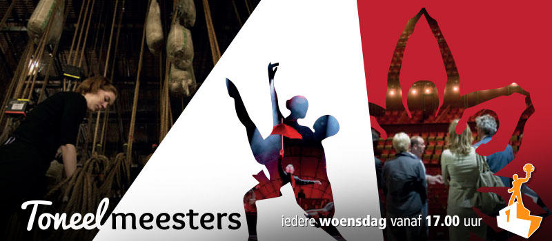 Shakespeare Diever in Toneelmeesters van Podium.TV