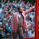 Shakespearetheater Diever 2017 Bert Wijers als Lucentio in De Getemde Feeks