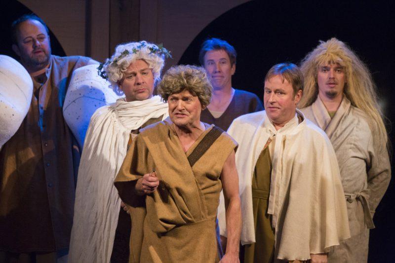 Midzomernachtdroom handwerkslieden Globetheater Diever 2017 Foto: Koen Timmerman